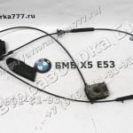 Трос привода капота и механизм замка капота, нижняя часть BMW X5 E53