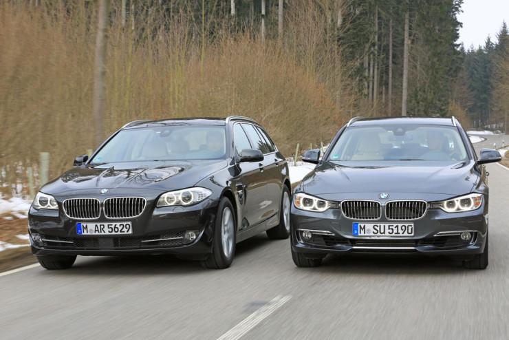 Российский вторичный рынок: объемы продаж BMW 3 series и 5 series растут