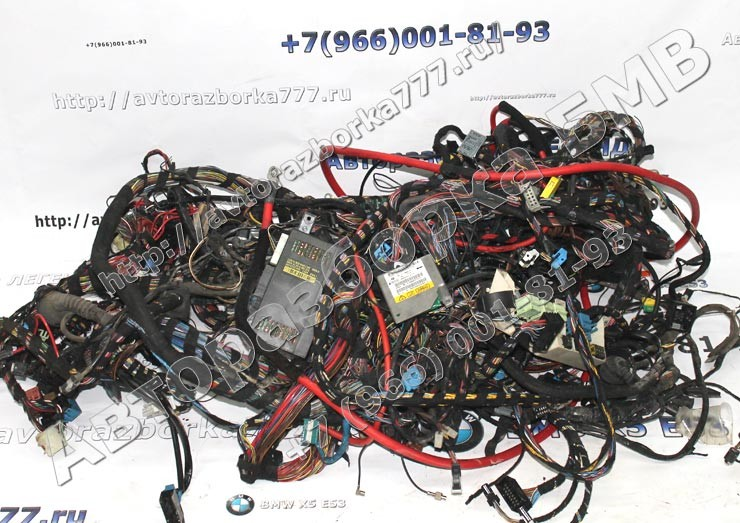 Электропроводка BMW X5 E53