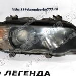 Фара ксеноновая Л и П BMW X5 E53