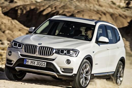 BMW X3: компактная практичность