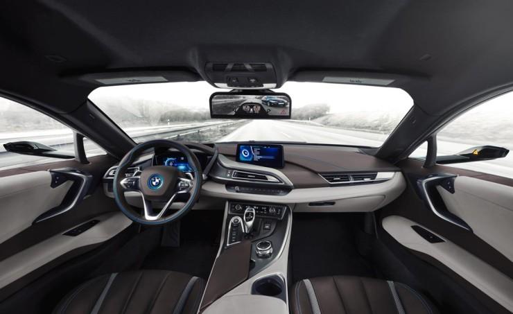 BMW i8 Mirrorless: отказ от зеркал в пользу камер