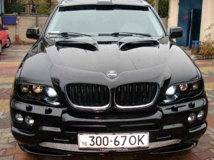 Сделаем автомобиль BMW X5 E53 лучше