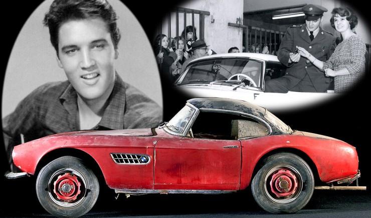 Нашлась машина Пресли – спорткар БМВ 507