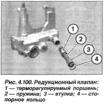 Рис. 4.100. Редукционный клапан БМВ Х5 Е53 М62