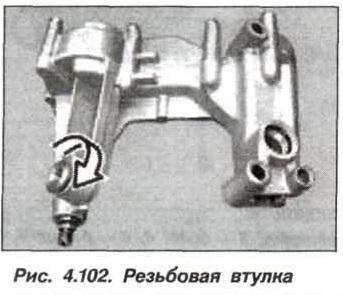 Рис. 4.102. Резьбовая втулка БМВ Х5 Е53 М62