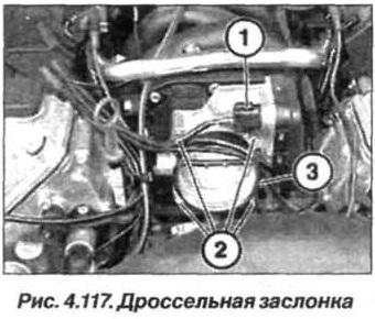 Рис. 4.117. Дроссельная заслонка БМВ Х5 Е53 М62