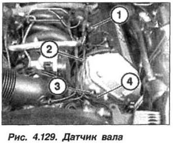 Рис. 4.129. Датчик вала БМВ Х5 Е53 М62