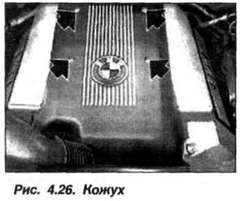 Рис. 4.26. Кожух БМВ Х5 Е53 М62
