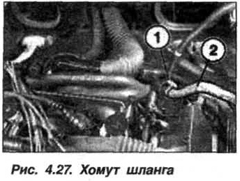 Рис. 4.27. Хомут шланга БМВ Х5 Е53