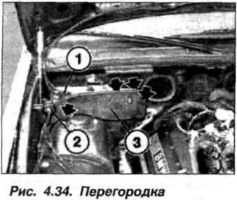 Рис. 4.34. Перегородка БМВ Х5 Е53 М62