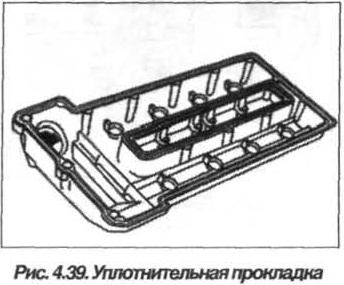 Рис. 4.39. Уплотнительная прокладка БМВ Х5 Е53 М62
