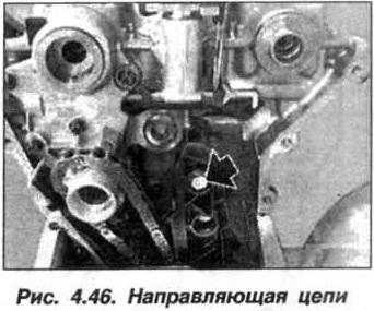 Рис. 4.46. Направляющая цепи БМВ Х5 Е53 М62