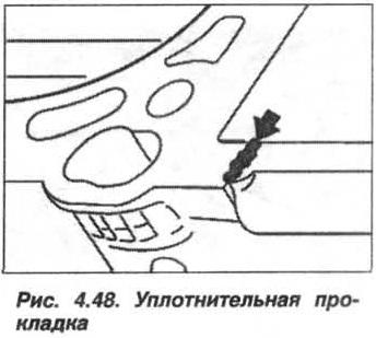 Рис. 4.48. Уплотнительная прокладка БМВ Х5 Е53 М62