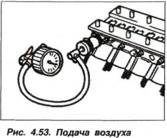 Рис. 4.53. Подача воздуха БМВ Х5 Е53 М62