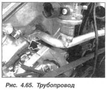 Рис. 4.65. Трубопровод БМВ Х5 Е53 М62