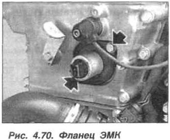 Рис. 4.70. Фланец ЭМК БМВ Х5 Е53 М62