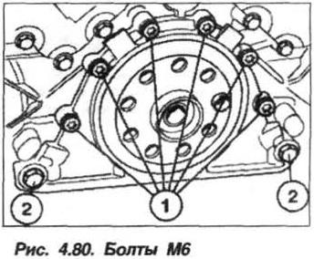 Рис. 4.80. Болты М6
