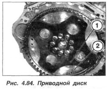 Рис. 4.84. Приводной диск БМВ Х5 Е53 М62