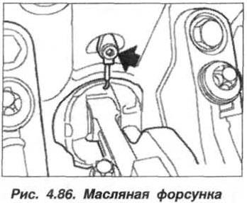 Рис. 4.86. Масляная форсунка БМВ Х5 Е53 М62