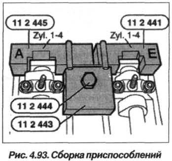 Рис. 4.93. Сборка приспособлений