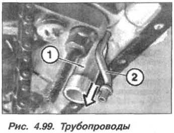 Рис. 4.99. Трубопроводы БМВ Х5 Е53 М62