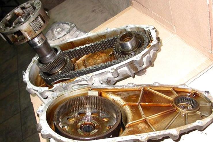 Проблемы раздаточной цепи БМВ Х5