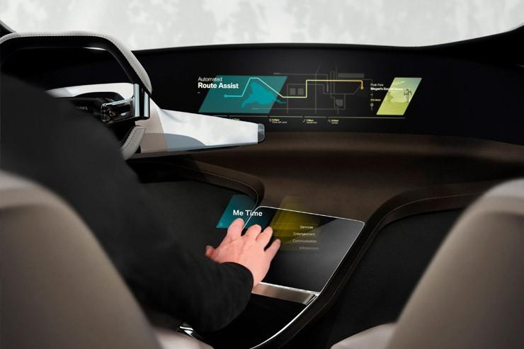 БМВ представит на выставке голографический автомобильный дисплей
