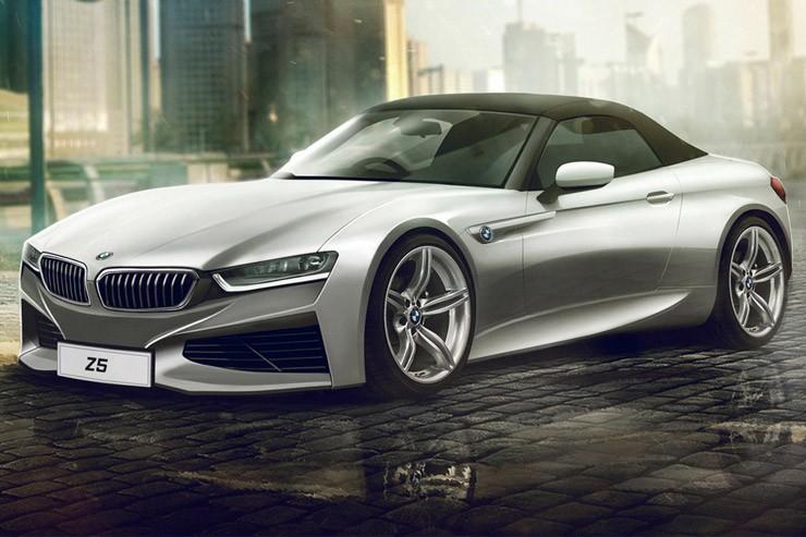 BMW Z5 увидим в конце года