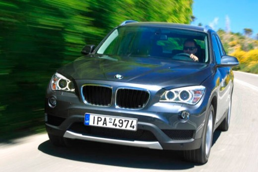 Кузов подержанного BMW X1 E84