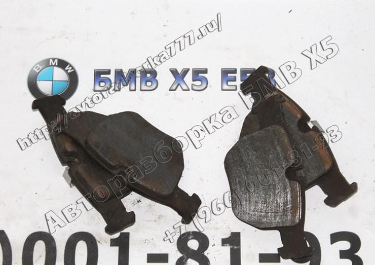 34116761252 Рем.комлект тормозных накладок, безасбестовых БМВ Х5 Е53