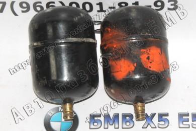 37126755021-37126755022 Воздушный резервуар с трубопроводом Л и П БМВ Х5 Е53