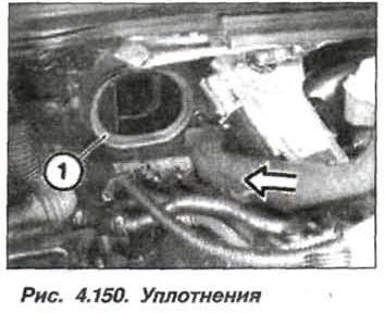 Рис. 4.150. Уплотнения БМВ Х5 Е53 М62