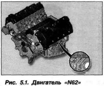 Рис. 5.1. Двигатель N62 БМВ Х5 Е53
