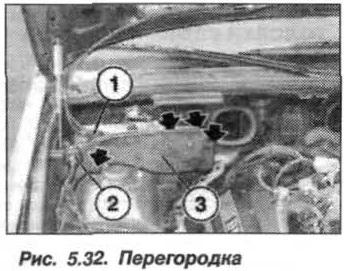 Рис. 5.32. Перегородка БМВ Х5 Е53 N62