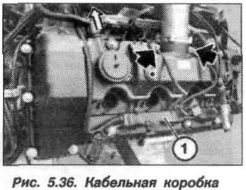 Рис. 5.36. Кабельная коробка БМВ Х5 Е53 N62