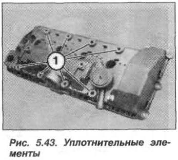 Рис. 5.43. Уплотнительные элементы БМВ Х5 Е53 N62