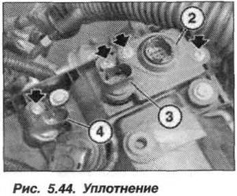 Рис. 5.44. Уплотнение БМВ Х5 Е53 N62