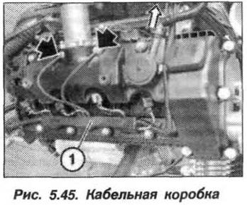 Рис. 5.45. Кабельная коробка БМВ Х5 Е53 N62