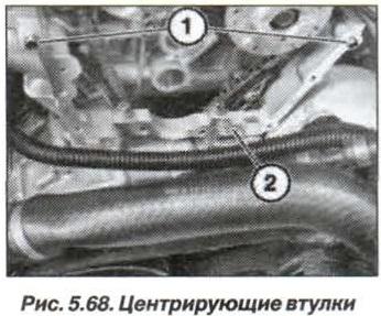 Рис. 5.68. Центрирующие втулки БМВ Х5 Е53 N62