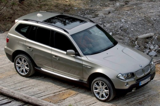Кузов подержанной BMW X3 E83