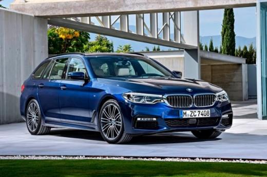 Новая BMW 5-й серии: универсал Touring