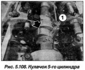 Рис. 5.108. Кулачок 5-го цилиндра БМВ Х5 Е53 N62