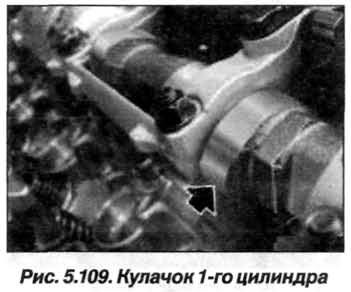 Рис. 5.109. Кулачок 1-го цилиндра БМВ Х5 Е53 N62