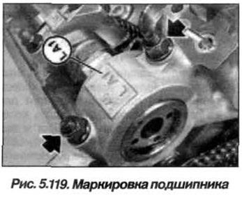 Рис. 5.119. Маркировка подшиника BMW X5 E53