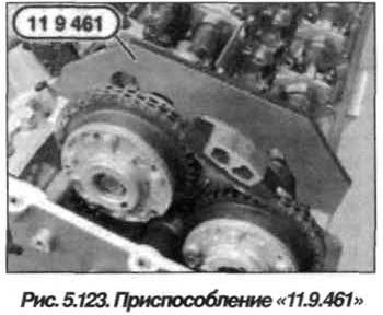 Рис. 5.123. Приспособление 11.9.461  BMW X5 E53