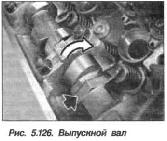 Рис. 5.126. Выпускной вал БМВ Х5 Е53 N62