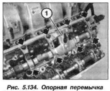 Рис. 5.134. Опорная перемычка БМВ Х5 Е53 N62