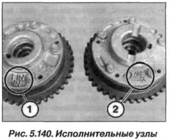 Рис. 5.140. Исполнительные узлы БМВ Х5 Е53 N62