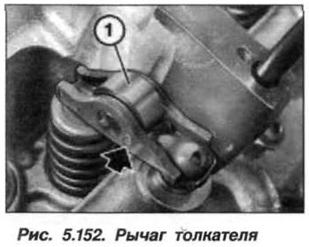 Рис. 5.152. Рычаг толкателя БМВ Х5 Е53 N62